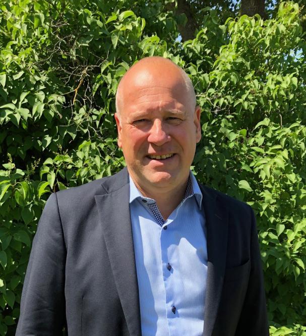 Niclas Petersen, ny ekonomi- och finansdirektör på Tekniska verken i Linköping.