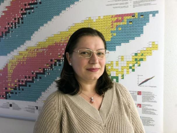 Teodora Retegan Vollmer, biträdande professor i nukleär kemi vid institutionen för kemi och kemiteknik och Chalmers representant för EU-projektet A-Cinch.