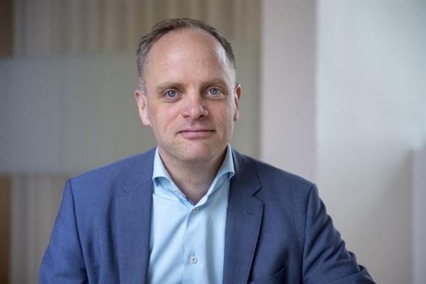 Jonas Stenbeck, chef Vattenfall Försäljning.