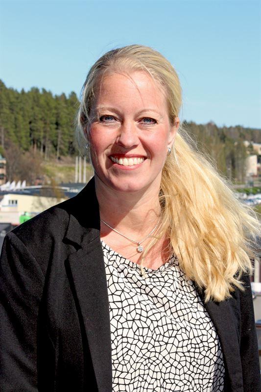 Sanna Lundström, avdelningschef Kundutveckling på Skellefteå Kraft.