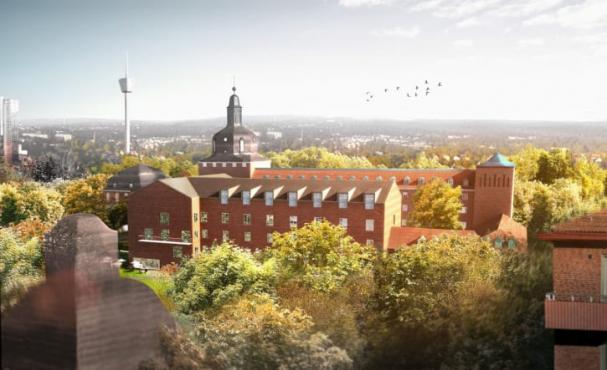 Assemblin anlitades för samtliga elinstallationer när Carlanderska sjukhuset i Göteborg byggdes ut. White arkitekter vann 2019 arkitekturpriset European Healthcare Design Awards för utformningen av den nya byggnaden.