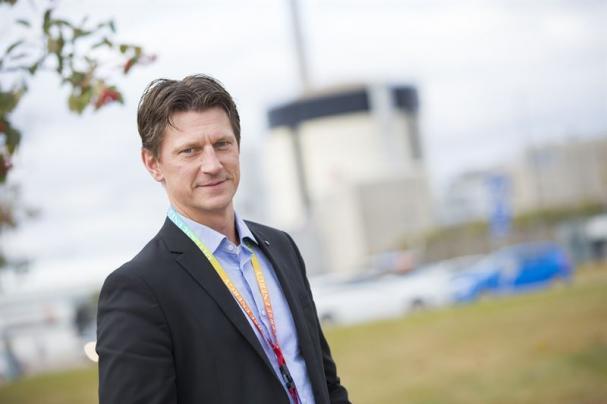 Andreas Ahagen, chef för Ringhals säkerhet, kvalitet och miljö.