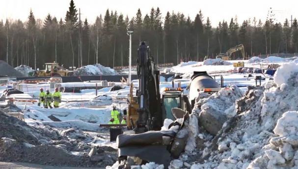 Facebook håller på och bygger sin tredje serverhall i Luleå.