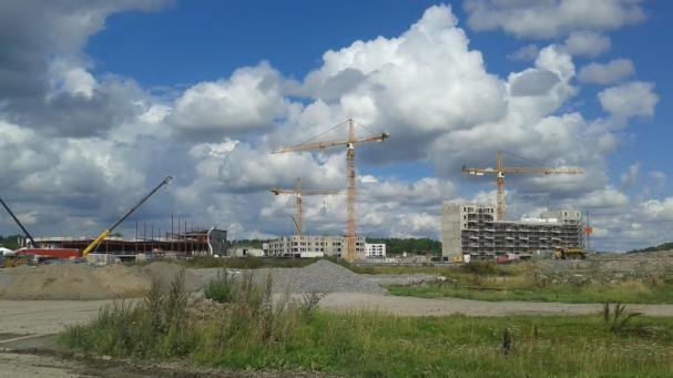 Barkarbystaden är det största utbyggnadsområdet i Stockholmsområdet.