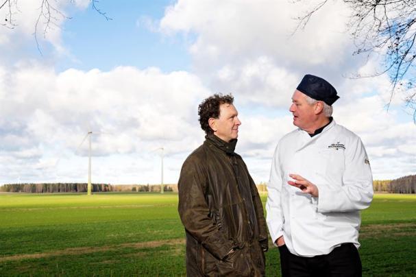 Stefan Malm, Den svenska Matfabriken tillsammans med producenten Jan Johansson på Vistena gård.