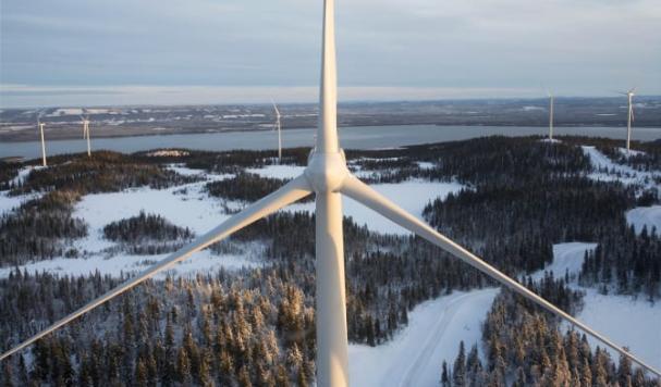 Vestas V90 turbin iHavsnäs.