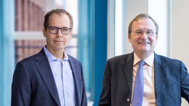 Martin Höhler, vd för E.ON Energidistribution och Jonas Arvidsson, vd för ONE Nordic.