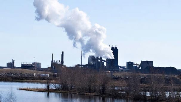 SSABs stålverk.