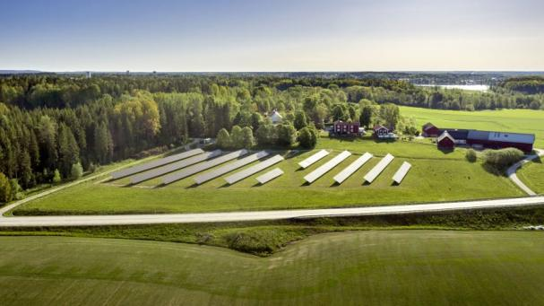 Solhagen i Torphyttan invigs sommaren 2020, men redan nu du teckna solabonnemang.