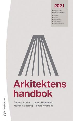 Omslaget till Arkitektens handbok 2021.