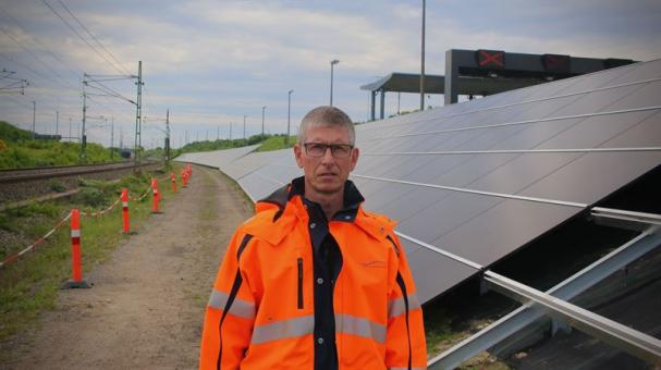 Christian Tolstrup, projektledare på Øresundsbron.