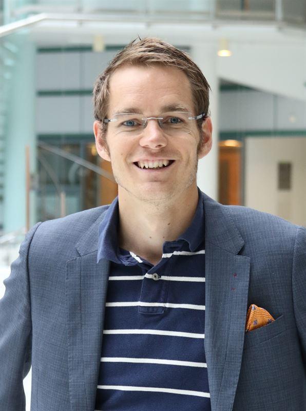 Joonas Rauramo, direktör för Fortums vindkraftsenhet.