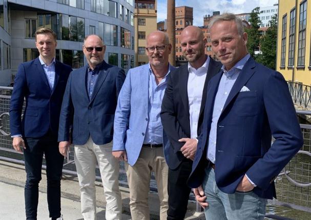 Gustaf Larsson Ehrenfelt, Per Westberg, Stefan Langeville, Mikael Westberg och Klas Larsson.
