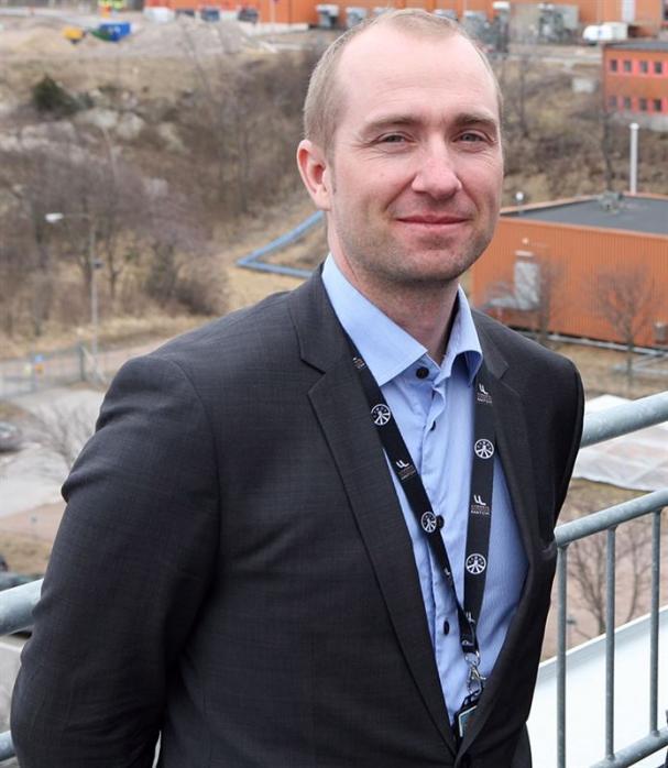 Mattias Backmark, chef affärsutveckling Preem