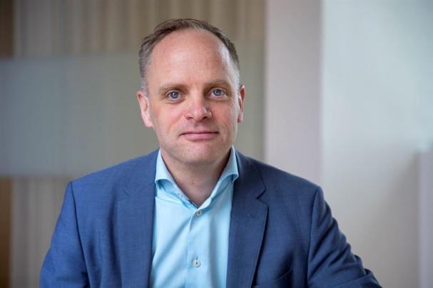 Jonas Stenbeck, privatkundschef Vattenfall Försäljning.