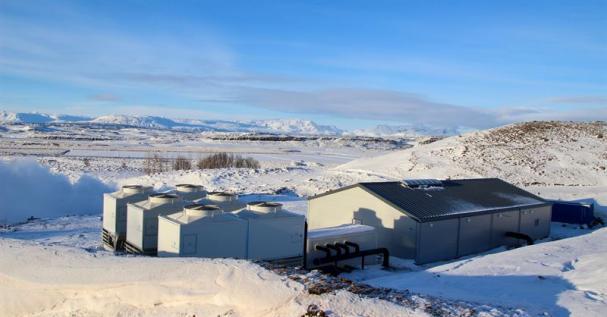 Kraftverket i Flúðir.