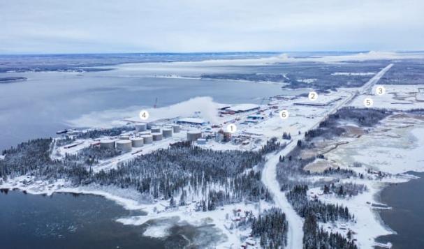 Haraholmen utanför Piteå är platsen som rymmer ett av Sveriges mest expansiva industriella centrum.