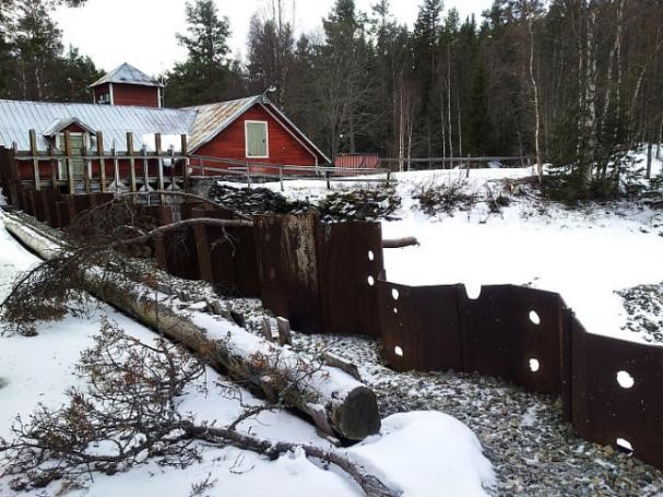Långforsens kraftverk.