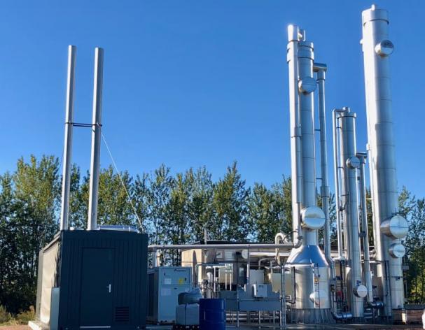 Kretsloppet sluts genom att organiskt avfall från Orkla och befolkning i Eslövsområdet kommer in till avloppsreningsverket, rötas till rågas som förädlas till biogas av E.ON och därefter levereras till kunderna.