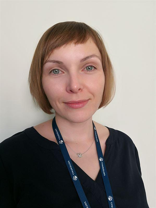 <span><span>Anna Zolnowska, HR ansvarig på Vattenfalls IT-enhet.</span></span>