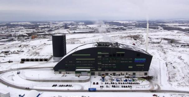 Filbornaverket, en del av Öresundskraft.